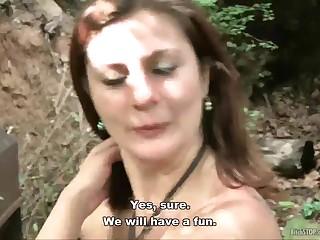 Ретро порно секс на природе с шофером